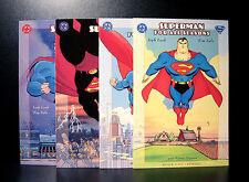 COMICS: DC: Superman: For All Seasons #1-4 (1990s) - RARE (batman/flash/figure)