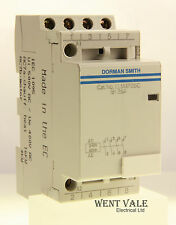 Dorman Smith LLM4P25C - 25a Four Pole Normally Open Contactor 240v Coil Unused