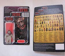 Star Wars Vintage WAROK ORIGINAL TRILOGO CARDBACK UNPUNCHED