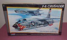Vintage 1988 Monogram 1:48 F-8 Crusader Model Kit NO. 5826 Sealed