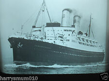 Glass magic lantern slide Canadian Pacific railways SS Princess of Richmond ship