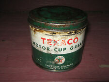 Texaco Motor Cup Grease Empty Can