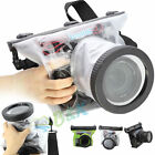 Camera Canon 650D 700D 60D 5D 6D 7D 20M Waterproof Underwater Housing Case Pouch