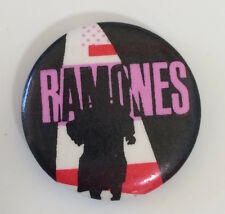 "RARE Vintage 1981 The Ramones Pleasant Dreams pinback button 1"" pin punk NY 80"