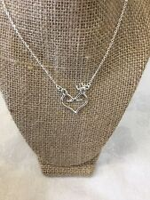 Browning Buck Doe Heart Necklace