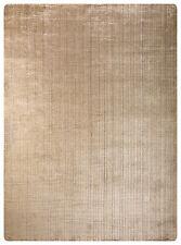 Viskose Gabbeh Loribaft Teppich 315 x 228cm Einzelstück Handgearbeitet Einfarbig