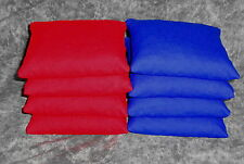 Set of 8 RED & BLUE Cornhole Corn Hole Bags ACA Regulation Size & Weight
