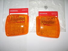 Honda turn signal lens lenses Spree NQ50 Elite SE50 NB50 Aero OEM Genuine