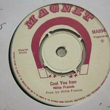 """Willie Francis(7"""" Vinyl)Cool You Iron-Magnet-MA054-UK-Ex/Ex+"""
