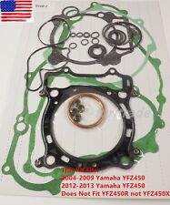 Complete Tusk Gasket Kit Top & Bottom End Set- YAMAHA YFZ450 YFZ 450 2004-2009
