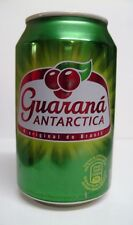 empty Guaraná Antarctica can / leere Dose; 330 ml; Bottom opened (Brazil/EU)