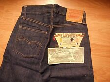 "Vtg. Original 60s LEVI's 501E A Type S/S  Big E Red Line W 27""x L 29""Dead stock"