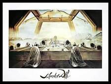 Salvador Dali Das letzte Abendmahl Poster Kunstdruck mit Alu Rahmen 60x80cm