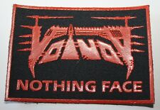 Voivod, Nothing Face, Rubber Patch, Gummipatch, rar, rare