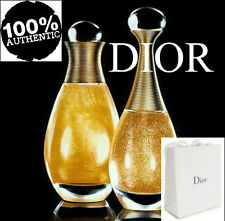 100%AUTHENTIC BEYOND RARE DIOR JADORE 24k GOLD SUPREME SHIMMERING PERFUM DRY OIL