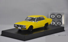 1:43 DISM NISSAN Datsun 240K GT Die Cast Model Yellow Chassis can be lift