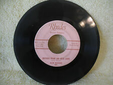 Slim Rhodes, Brothers Frank and Jesse James / Steal a Kiss, 1950's Rhodes Record