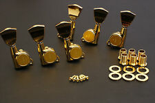 Free Shipping Gotoh Machine Head Tuners SG381-04 Gold L3/R3 Set Made in Japan