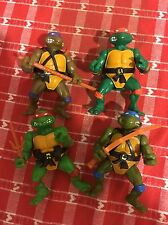 TMNT Vintage 1988 Lot of 4 Action Figures Original Teenage Mutant Ninja Turtles