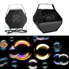 New 25W Bubble Machine Automatic Maker Atmospheric Effects Machine for Wedding