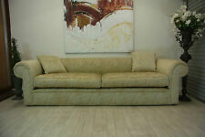 THE ULTIMATE GLAMOROUS GOLD * FRENCH PROVINCIAL /PARISIENNE COUCH LOUNGE ~ SOFA