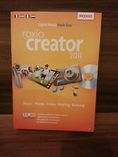 Roxio Creator 2011 WinOnCd Windows XP/7/8/10 NEU OVP DVD KEY Software