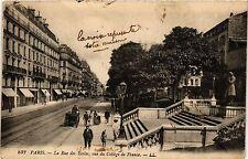 CPA Paris 5e-La Rue des Ecoles vue du Collége de France (324602)