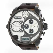 Diesel DZ7126 Multi-movement SBA XXL Men's Chronograph Leather Watch  New in Box