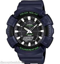 Casio ADS800WH-2A Mens Blue 200M Tough Solar Sports Watch 5 Chronograph