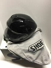 SHOEI X-12  X TWELVE SOLID GLOSS BLACK HELMET SIZE MEDIUM