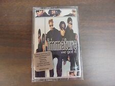 "NEW SEALED ""Immature"" WE Got It   Cassette Tape (G)"