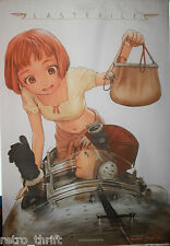 "Last Exile Flag Poster Size 29.25"" x 44.5"" Wall Hanging Fabric Material Scroll"