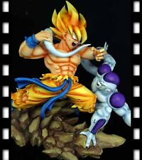 Dragonball KAI GOKU VS FREEZA BATTLE SCENE Resin Statue Diorama NEW DJCA