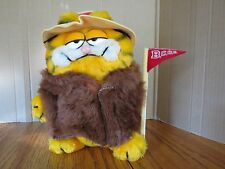 "Garfield Plush Big Cat On Campus 9.5"" T BCOC 1981 Vintage"