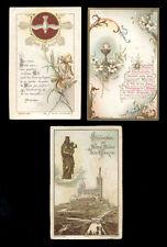 lotto santini-holy cards lot-lot images pieuses-konvolut heiligenbildichen n.97