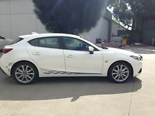 Mazda 3 BM 2014 current model GT racing stripes/decal/graphics full colors