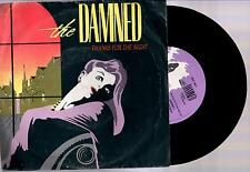 """THE DAMNED THANKS FOR THE NIGHT + NASTY 1984 DAMNED RECORDS 7"""" 45 GIRI"""