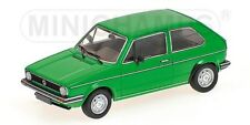 MINICHAMPS 400 055100 VW GOLF Mk.1 diecast model road car 3 door green 1980 1:43