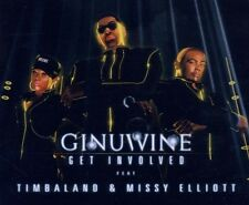 "Ginuwine feat Timbaland ""Get Involved"" CD SINGLE NUOVO"