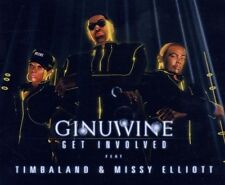 "GINUWINE FEAT TIMBALAND ""GET INVOLVED"" CD SINGLE NEU"