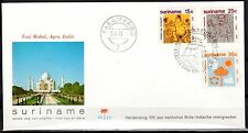 Suriname - 1973 Immigration- Clean unaddressed FDC!