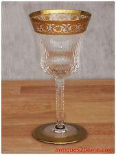 Verre à vin de Bordeaux n°4 NEUF en cristal de Saint Louis Thistle