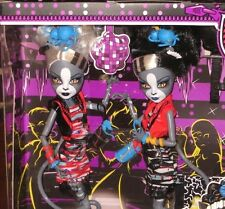 MONSTER HIGH DOLLS 2 PACK ZOMBIE SHAKE MEOWLODY & PURRSEPHONE * IN HAND