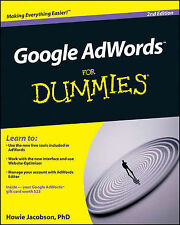 Google AdWords For Dummies by Howie Jacobson (Paperback, 2009)