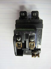 ITE P1515, 15 Amp Tandem Pushmatic Circuit Breaker- WARRANTY