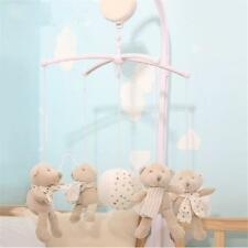 Baby Newborn Crib Mobile Bed Bell Toy Holder Arm Bracket with Wind-up Music Box