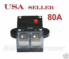 80amp APS 2/0 Gauge Car Audio Inline Power Circuit Breaker for 12V System CB8