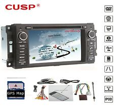 GPS SAT NAVCar DVD Player GPS Radio Stereo Bluetooth for JEEP/COMMANDER/WRANGLER