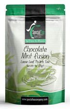 Chocolate Mint Fusion Gourmet Pu'erh Loose Tea 1oz Inc. 10 Free Tea Bags