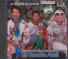 Venado Azul Acabame De Matar CD New Nuevo Sealed